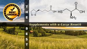 The Supplements with α-Lacys Reset®
