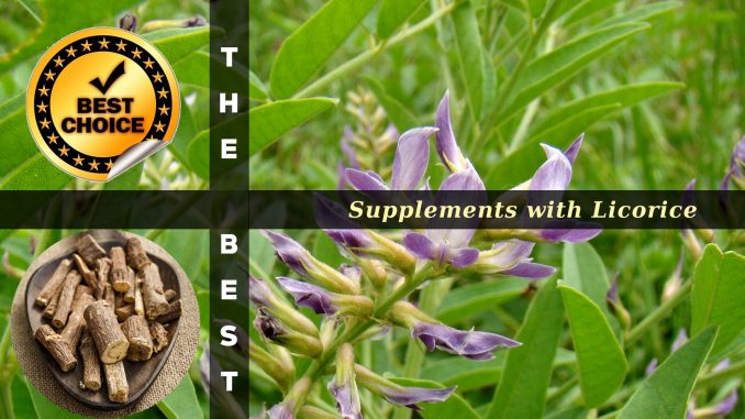 The Supplements with Licorice