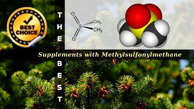 The Supplements with Methylsulfonylmethane