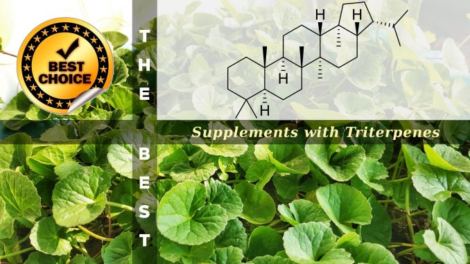 The Supplements with Triterpenes