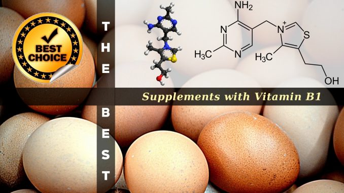 The Supplements with Vitamin B1