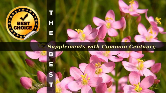 The Supplements with Common Centaury