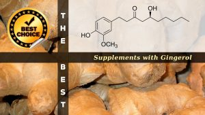 The Supplements with Gingerol