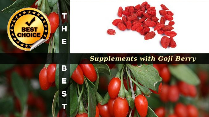The Supplements with Goji Berry