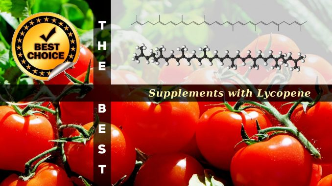 The Supplements with Lycopene