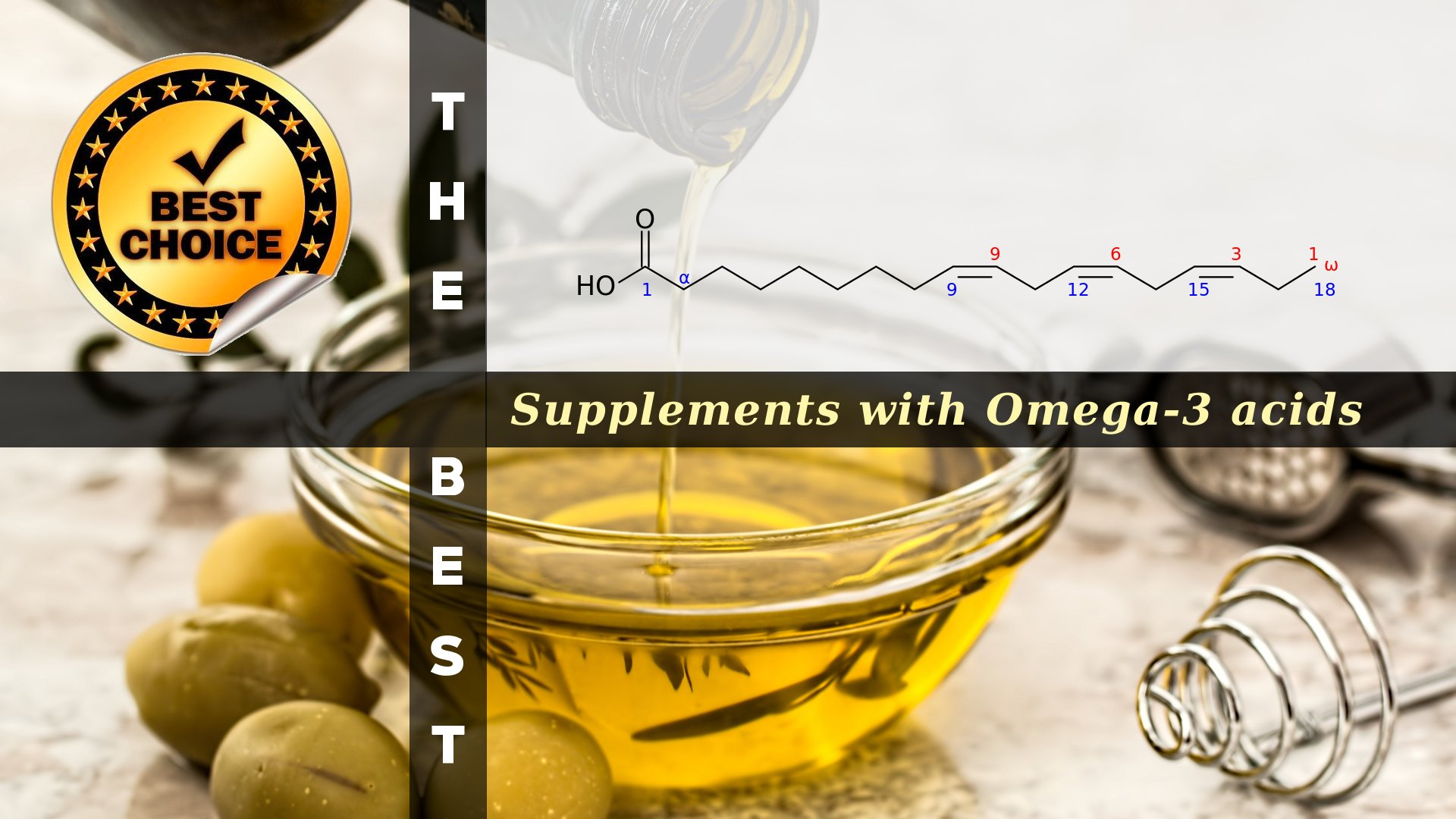 The Supplements with Omega-3 Acids