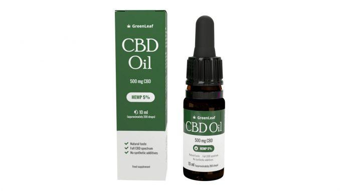 GreenLeaf - CBD Oil