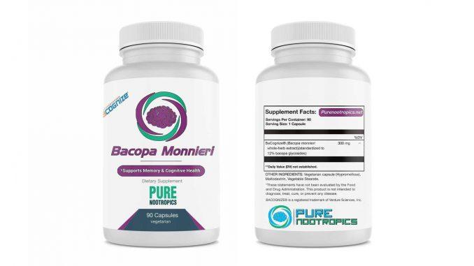 Pure Nootropics BaCognize® Bacopa Monnieri Capsules