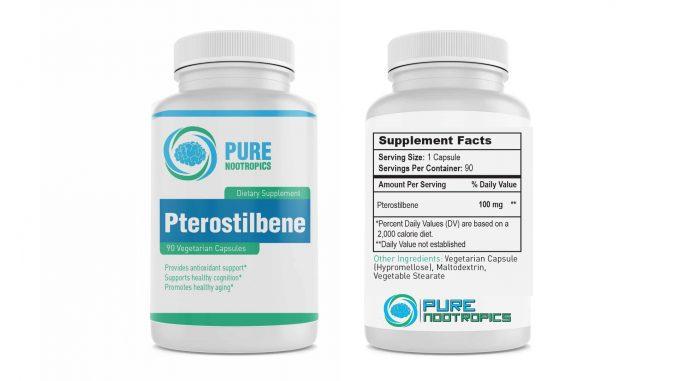 Pure Nootropics Pterostilbene Capsules