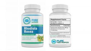 Pure Nootropics Rhodiola Rosea Capsules