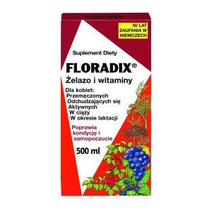 Floradix, płyn żelazo i witaminy, 500 ml / (Salus-haus)