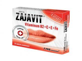 Zajavit, witamina B2 + C + E + Fe, tabletki powlekane, 30 szt. / (Ams Pharma)