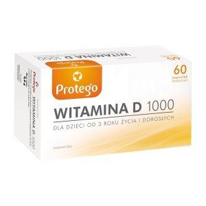Protego Witamina D 1000 j.m, kapsułki elastyczne, 60 szt. / (Laboratories Salvum)