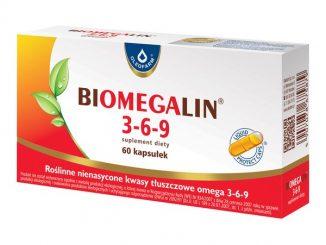 Biomegalin 3-6-9, 500 mg, kapsułki, 60 szt. / (Oleofarm)