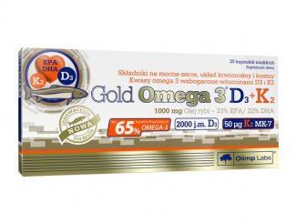 Olimp Gold Omega 3 D3 + K2, kapsułki, 30 szt. / (Olimp Laboratories)