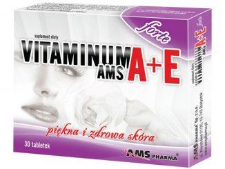 Vitaminum A+E AMS forte, tabletki, 30 szt. / (Ams Pharma)