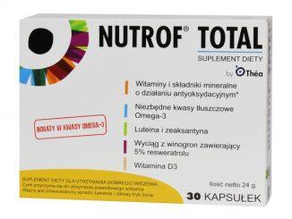 Nutrof Total, kapsułki z witaminą D3, 30 szt. / (Laboratoires Thea)