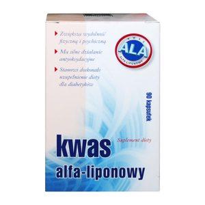 Kwas alfa-liponowy, kapsułki, 90 szt. / (A-z Medica)
