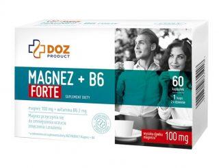 Magnez + B6 Forte, kapsułki, 60 szt. / (Doz)