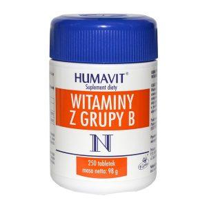 Humavit N Witaminy z grupy B, tabletki, 250 szt. / (Varia)