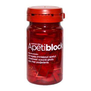Apetiblock, tabletki do ssania, musujące, smak wiśniowo-malinowy, 50 szt. / (Aflofarm)