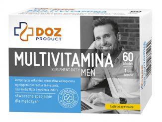 Multivitamina Men, tabletki powlekane, 60 szt. / (Doz)