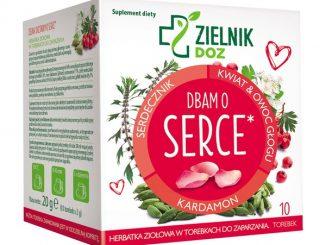 Dbam o serce, herbatka ziołowa, 2 g, 10 saszetek / (Doz)