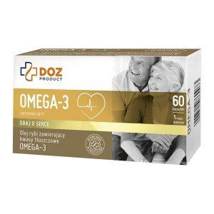 Omega-3, kapsułki, 60 szt. / (Doz)