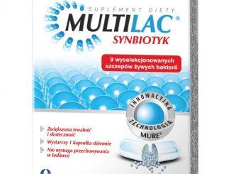 Multilac, synbiotyk, kapsułki, 10 szt. / (Usp Zdrowie)