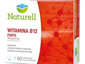 Naturell Witamina B12 FORTE, tabletki do ssania, 60 szt. / (Naturell)
