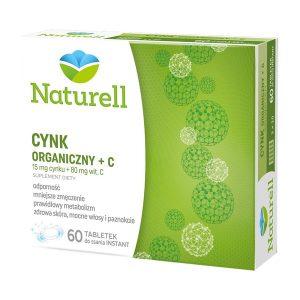 Naturell Cynk Organiczny + C, tabletki do ssania, 60 szt. / (Naturell)