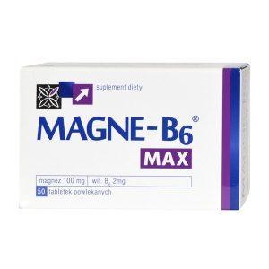 Magne-B6 Max, tabletki powlekane, 50 szt. / (Sanofi)