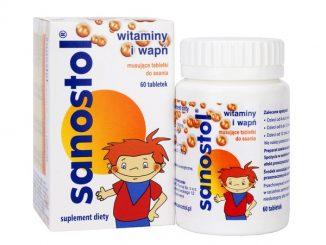 Sanostol, tabletki musujące do ssania, 60 szt. / (Takeda)