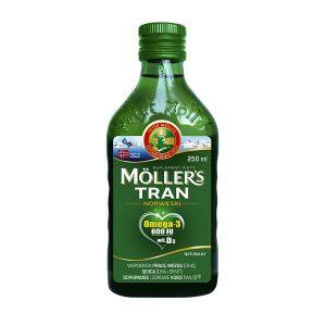 Mollers Tran Norweski naturalny, płyn, 250 ml / (Orkla Care)