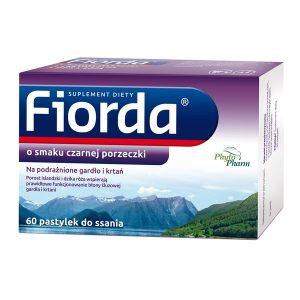 Fiorda, pastylki do ssania, 60 szt. / (Phytopharm)