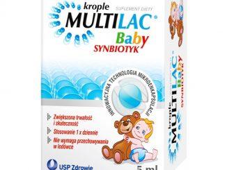 Multilac Baby, krople, synbiotyk, 5 ml / (Usp Zdrowie)