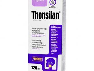 Thonsilan, syrop, 120 ml / (Novascon Pharmaceuticals)