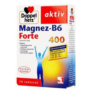 Doppelherz aktiv Magnez-B6 Forte 400, tabletki, 30 szt. / (Queisser)