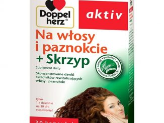 Doppelherz aktiv Na włosy i paznokcie + skrzyp, kapsułki, 30 szt. / (Queisser)