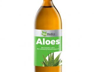 Aloes, sok z aloesu, 1000 ml / (Ekamedica)