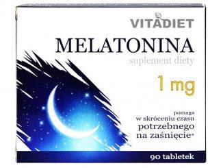 Melatonina 1 mg, tabletki, 90 szt. / (Vitadiet)