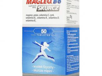 Magleq B6 Skurcz, tabletki, 50 szt. / (Lek-am)