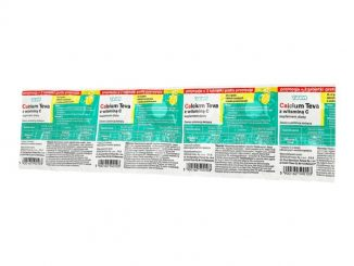 Calcium Teva z witaminą C, tabletki musujące, 12 szt. + 2 szt. / (Sensilab)