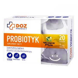 Probiotyk, kapsułki, 20 szt. / (Doz)
