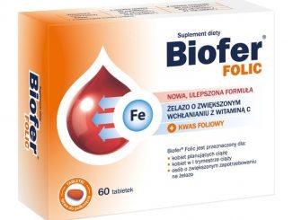 Biofer Folic, tabletki, 60 szt. / (Orkla Care)