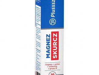 Plusssz Magnez Skurcz, tabletki musujące, 20 szt. / (Polski Lek)