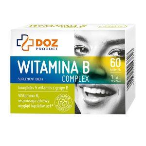 Witamina B Complex, tabletki powlekane, 60 szt. / (Doz)