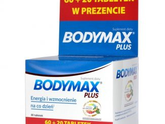 Bodymax Plus, tabletki, 60 szt. + 20 szt. GRATIS / (Orkla Health As, Norwegia)