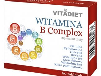 Witamina B Complex, tabletki, 60 szt. / (Vitadiet)