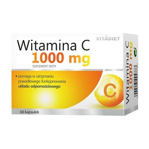 Witamina C 1000 mg, kapsułki twarde, 60 szt. / (Vitadiet)